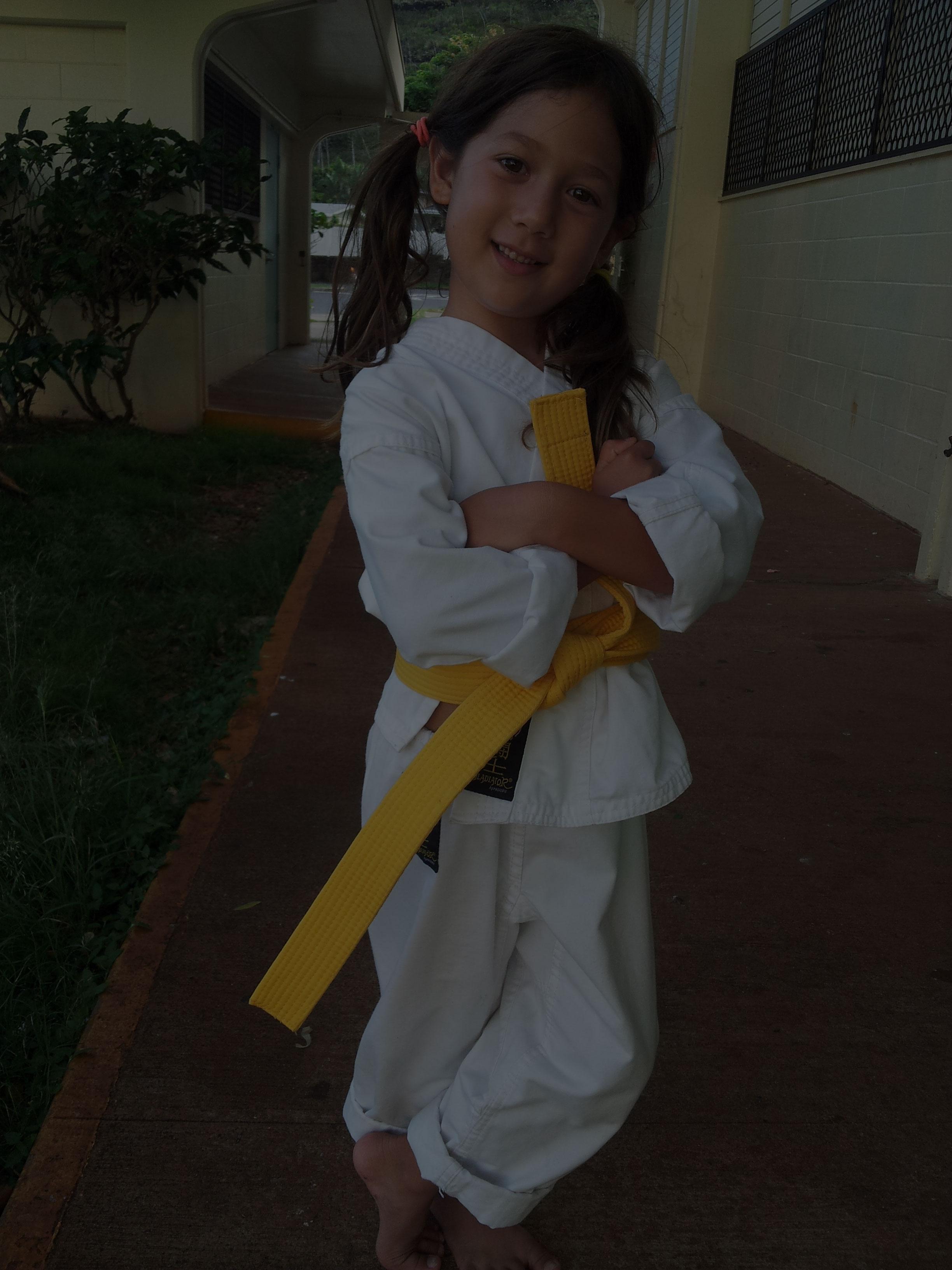 Zoe Yellow Belt